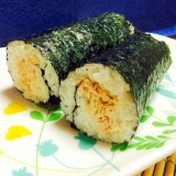 朝ご飯に!おにぎりより簡単ツナマヨ海苔巻