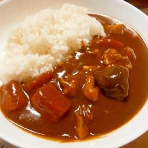 煮物の残り物で、生姜風味の和風カレー♪時短!