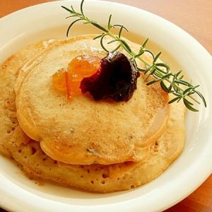砂糖不要❤米粉&豆乳パンケーキ♪(桂花ウーロン茶)