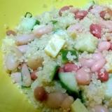キヌアと豆のサラダ