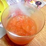 夏にさっぱり☆グレープフルーツゼリー