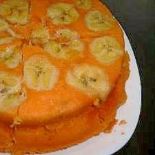バナナたっぷり☆野菜蒸しケーキ♪