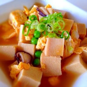和食以外もおまかせ!「高野豆腐」が主役の献立