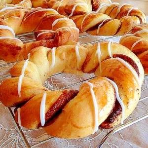 菓子パン大好き‼︎ チョコツイストパン