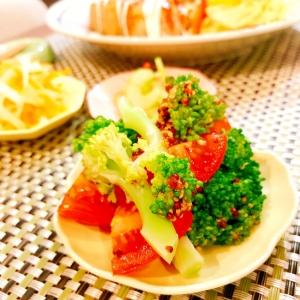 ブロッコリーとトマトのマスタードサラダ☆