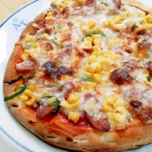 市販のピザ使って。。パーティーPizzaに~♬