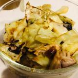 キャベツと鶏肉の焼肉のタレ炒め♪作り置きに!