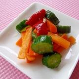 超簡単*塩麹の夏野菜ピクルス*