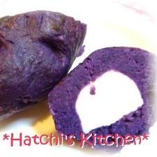 ちっちゃな紫芋
