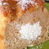 米粉使用 キャラメルミルクの生シフォンケーキ
