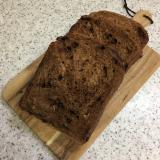 オトナのほろ苦。カフェモカ食パン【HB使用】