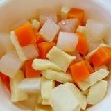 高野豆腐と野菜の煮物(離乳食後期)