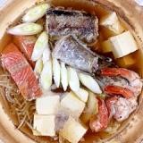 真鱈と海老の鍋物