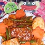 豚肉とタケノコの中華風デミ煮込み