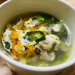 チャーシューを使ったスープ