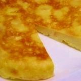 炊飯器☆食パンでチーズケーキ