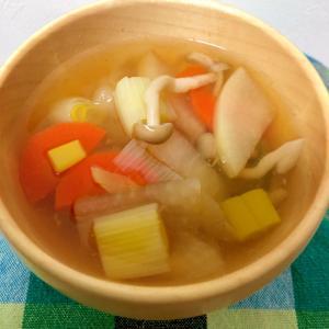 大根とねぎの和風スープ