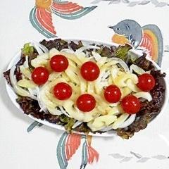 サニーレタスと新玉葱のサラダ