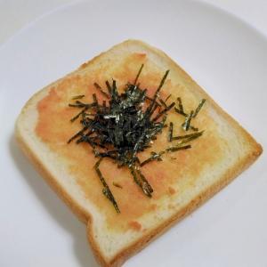 朝食に☆明太子バタートースト