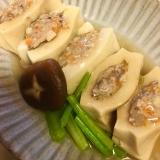 高野豆腐の肉詰め煮込み