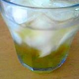 疲れた時に蜂蜜レモンのジュース♪
