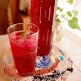 体にいいことたくさん!自然の恵み☆赤紫蘇ジュース