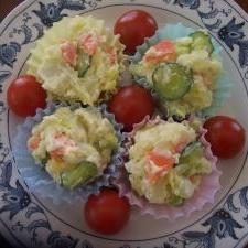 野菜たっぷり!我が家のポテトサラダ☆