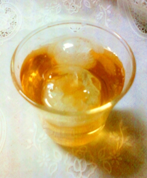 ♡゚・。♥。・゚♡レモンラム酒麦茶♡゚・。♥。♡
