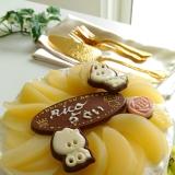 長女Rico☆5歳誕生日ケーキ~定番スポンジケーキ