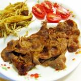 イベリコ豚の漬け焼き定食