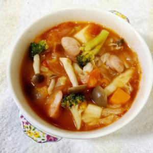 野菜沢トマトスープ