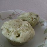 青汁とバナナの☆お豆腐蒸しパン