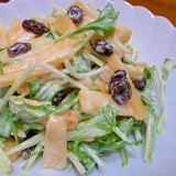 簡単☆柿のサラダ