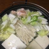 うちの湯豆腐