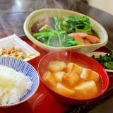 おつゆ麩の味噌汁