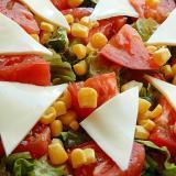 5分!?サニーレタス&白菜キムチの合えサラダ♪