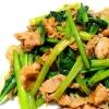 旨味食材と組み合わせて!「小松菜」が主役の献立