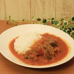 エゾジカのスネ肉カレー