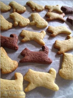 ホットケーキミックスでわんこクッキー♡