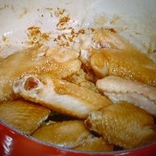ちょっとピリ辛・鶏手羽のコチュジャン煮