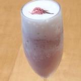 ス○バ風!?飲む桜餅☆さくらフラペチーノ