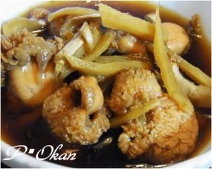 たまに食べたい♪鯛の子の生姜煮