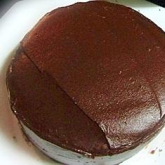 キャロブチョコでチョコケーキ