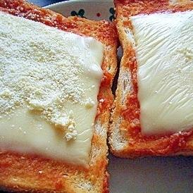 味噌&ケチャップチーズトースト★