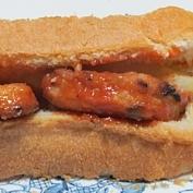 チキンナゲットポテト入りサンドイッチ 1395
