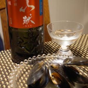 クリスマスディナーに、ムール貝の酒蒸し