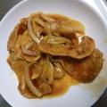 豚ロースの焼肉のタレ檸檬味焼き