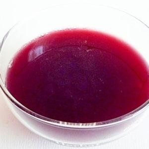 赤ワインゼリー
