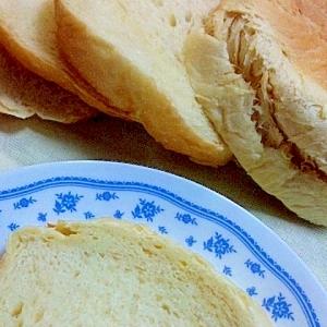 HB早焼きコースで ふんわりメープル食パン