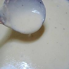 ダマにならないホワイトソースの作り方。